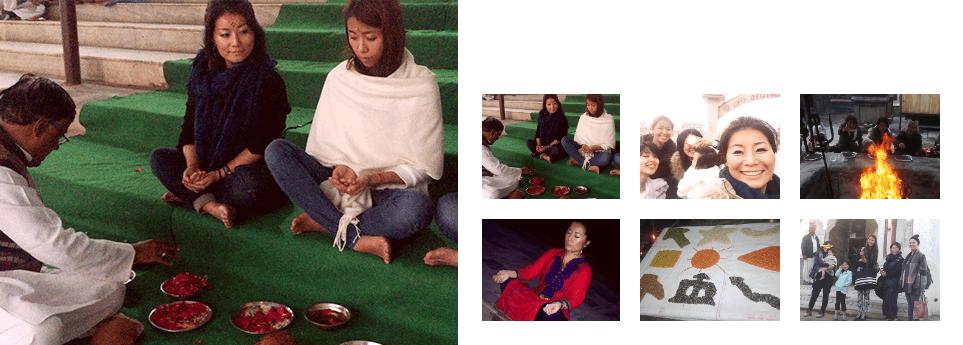 立川奈緒子,リトリート,インド,ホリスティック,ヒーリングフォースカレッジ